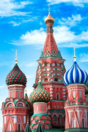 Saint Basil's Cathedral in Moscow Stock Photo - 8103459