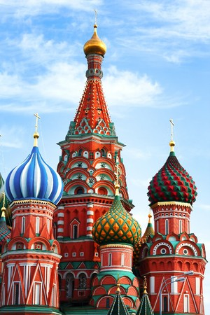 Saint Basils Cathedral in Moscow photo