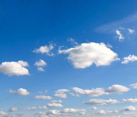 clouds in the blue sky Stock Photo - 8103333