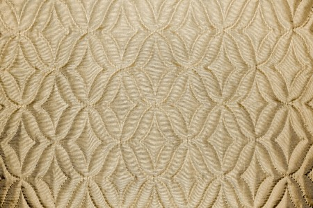 beige fabric material texture with rhombs Stock Photo - 8103583