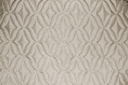 beige fabric material texture with rhombs Stock Photo - 8160200