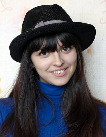 portrait of beautiful happy girl smiling Stock Photo - 8156565
