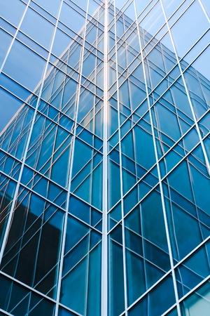 zeitgenössische blauem Glas architektonische Bauten