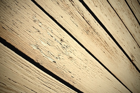 striped texture of wooden house photo