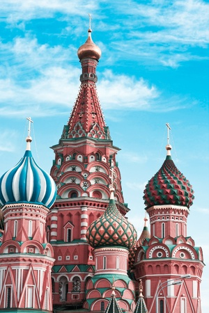 minin: the most famous place in Moscow, Russia Stock Photo