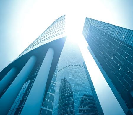 Fassade des riesigen Hochhaus skyscraper