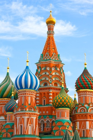 St Basils cathedral on Red Square in Moscow Stock Photo - 9352453