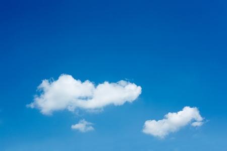 beautiful blue sky photo