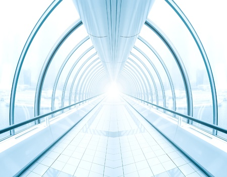 contemporary airport interior Stock Photo - 10216915