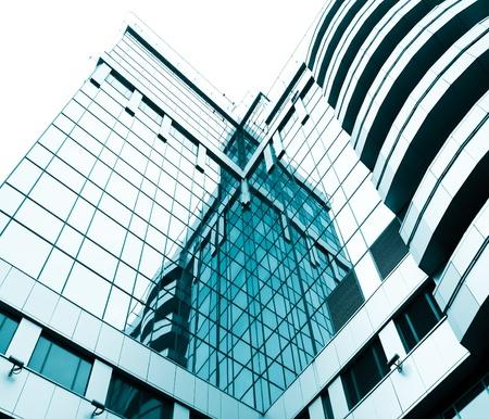 Quadrat Seite der Scheibe im Business-Center Standard-Bild - 10217024
