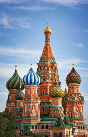 Moscow, Russia, Saint Basils cathedral photo