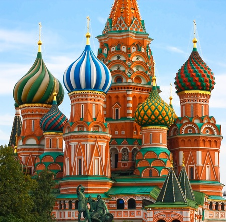 Moscow, Russia, Saint Basil's cathedral Stock Photo - 10489221