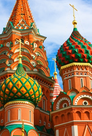 Moscow, Russia, Saint Basil's cathedral Stock Photo - 10489251