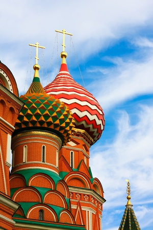 The Most Famous Place In Moscow, Saint Basil's Cathedral, Russia Stock Photo - 10489205