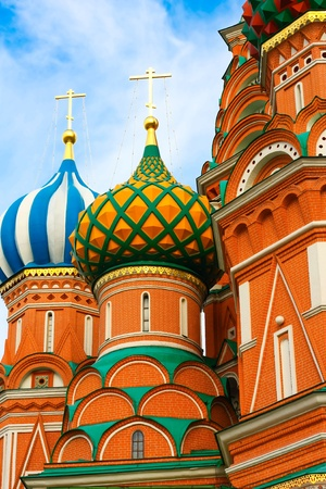 Moscow, Russia, Saint Basil's cathedral Stock Photo - 10489480