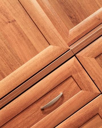 marqueteria: detalle de muebles de madera Foto de archivo