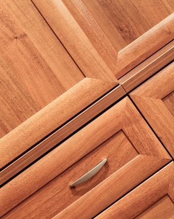 wooden furniture detail photo