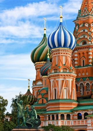 The Most Famous cathedral on Red Square in Moscow Stock Photo - 10980794