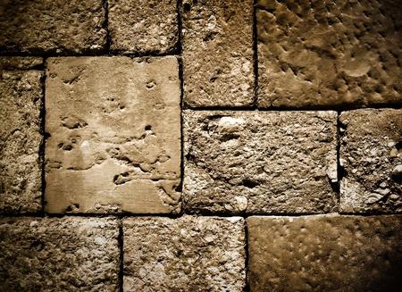 uneven: dark brick wall structure