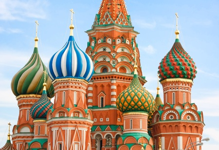 St. Basil's Cathedral on Red square, Moscow, Russia Stock Photo - 11526817