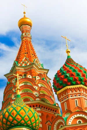 St. Basil's Cathedral on Red square, Moscow, Russia Stock Photo - 11526872