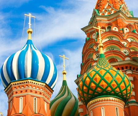 St. Basil's Cathedral on Red square, Moscow, Russia Stock Photo - 11526847