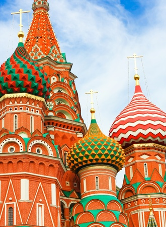 St. Basil's Cathedral on Red square, Moscow, Russia Stock Photo - 11526887