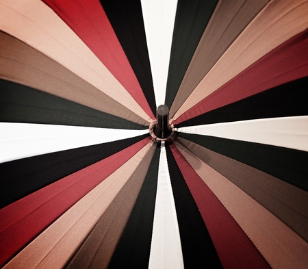 Abstract vintage colorful umbrella Stock Photo - 11526800