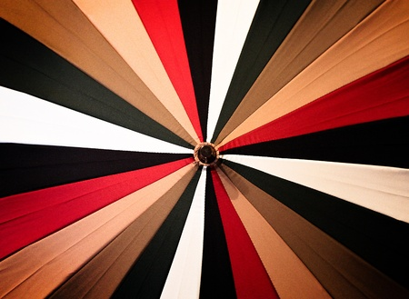 Abstract vintage colorful umbrella Stock Photo - 11526801