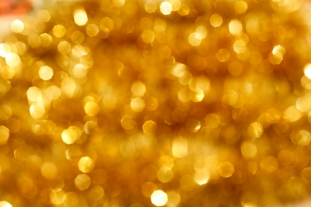 gold colour: Beautiful Christmas Colorful Garlands Stock Photo