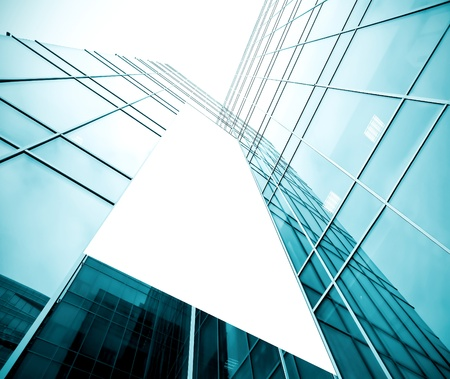 leeg bord boven glazige gebouw textuur Stockfoto