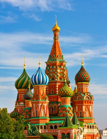 gorgeousness: The Most Famous Place In Moscow, Saint Basils Cathedral, Russia Stock Photo