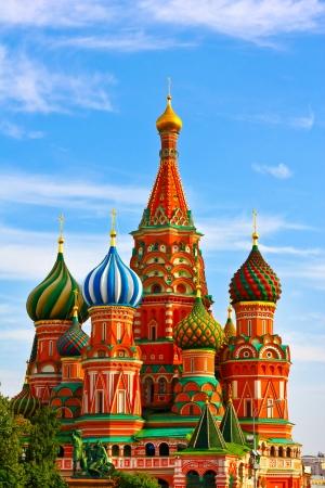 palacio ruso: El lugar más famoso de Moscú, la Catedral de San Basilio, Rusia