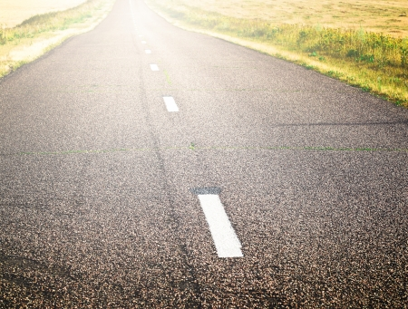 endless rural road