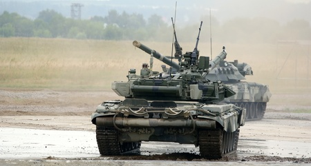 tracked: The main Russian tank T-90 Editorial
