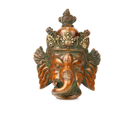 Ganesha from Copper from India Stock Photo - 11319087