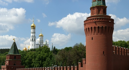 Russia, Moscow. Panoramic view of the Kremlin Stock Photo - 11339249