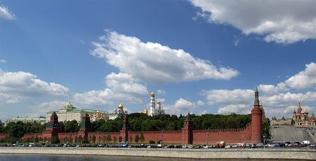 Russia, Moscow. Panoramic view of the Kremlin Stock Photo - 11319271