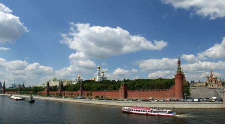 Russia, Moscow. Panoramic view of the Kremlin Stock Photo - 11348207