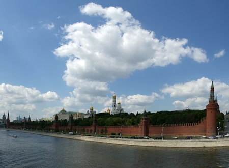 Russia, Moscow. Panoramic view of the Kremlin Stock Photo - 11319222