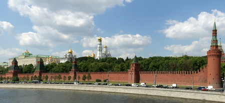 Russia, Moscow. Panoramic view of the Kremlin Stock Photo - 11332199