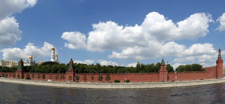 Russia, Moscow. Panoramic view of the Kremlin Stock Photo - 11332183