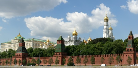 Russia, Moscow. Panoramic view of the Kremlin Stock Photo - 11328427
