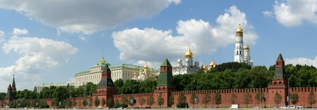 Russia, Moscow. Panoramic view of the Kremlin Stock Photo - 11348213