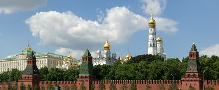 Russia, Moscow. Panoramic view of the Kremlin Stock Photo - 11328399