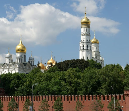 Russia, Moscow. Panoramic view of the Kremlin Stock Photo - 11328425