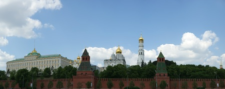 Russia, Moscow. Panoramic view of the Kremlin Stock Photo - 11348209