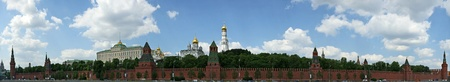 Russia, Moscow. Panoramic view of the Kremlin Stock Photo - 11319604