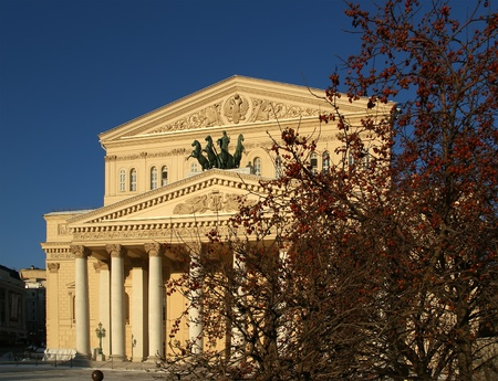 Bolshoi Theatre (Large, Great or Grand Theatre, also spelled Bolshoy), Moscow, Russia Stock Photo - 11314332