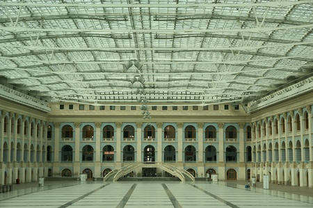 The interiors of Gostiny Dvor (Old Merchant Court), Moscow, Russia